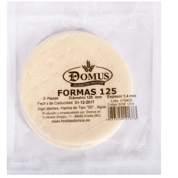 Formas Pan 125
