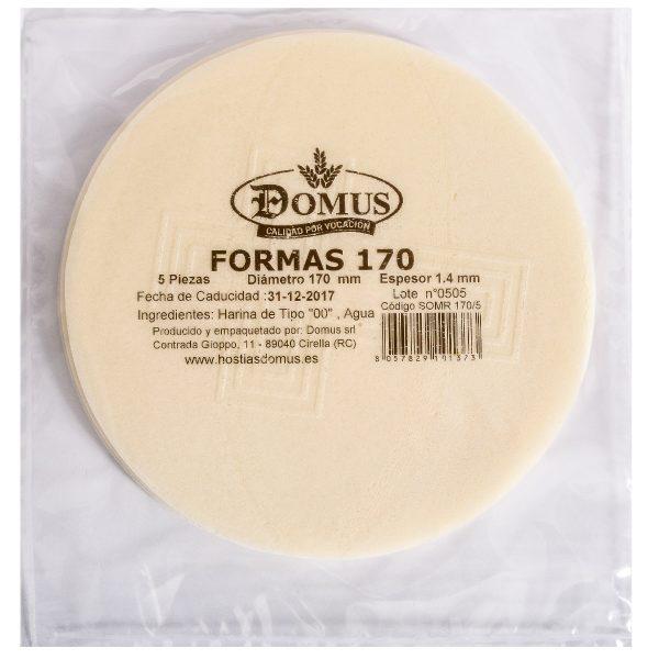 Formas Pan 170