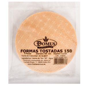 Formas Tostadas 150
