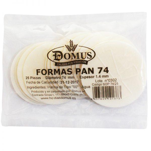 Formas Pan 74
