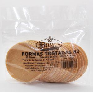 Formas Tostadas 80