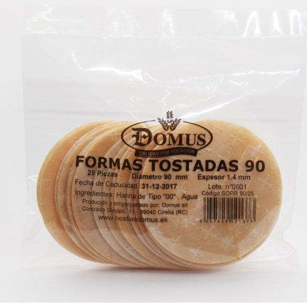 Formas Tostadas 90